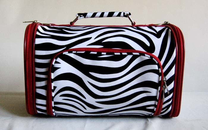15 Pet Luggage/Carrier Dog/Cat Travel Bag Purse Red
