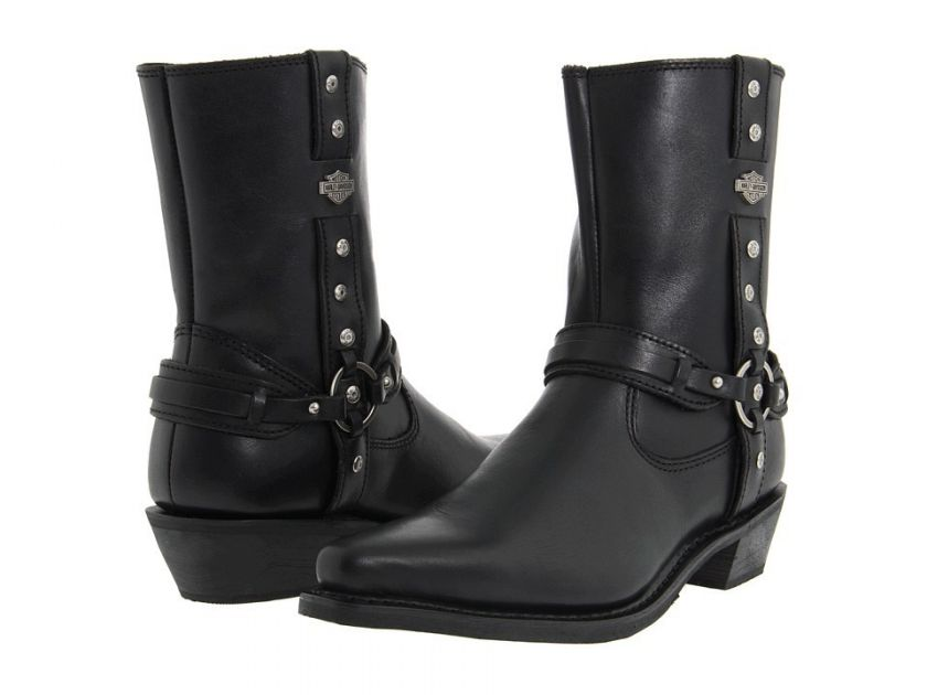 Harley Davidson Womens Rochelle Motorcycle Boot