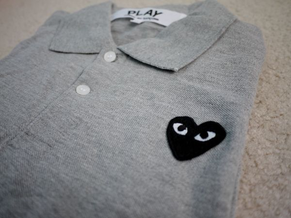 Comme des Garcons CDG PLAY Polo Unisex